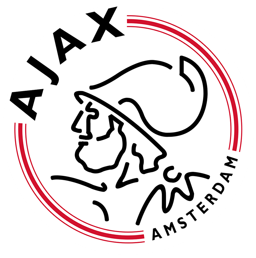 Ajax Hollanda ekibi Ajax 1900 yılında kuruldu. Kulübün ilk logosunda takım oyuncularından birinin portresi bulunuyordu. Portre, 1928'de Antik Yunan'daki kahramanlardan Ajax'ın figürü ile değiştirildi. 1990'da logo bir kez daha değiştirildi. Ajax'ın portresi 11 futbolcuyu simgeleyecek şekilde 11 çizgiyle çizildi.