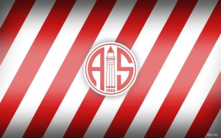Antalyaspor Beyaz yuvarlak zemin içinde yer alan A ve S harfleri Antalyaspor'u temsil eder. İki harf arasında Antalya'nın simgelerinden Yivli Minare bulunur. Yivli Minare'nin üzerindeki üç bant ise Antalyaspor'u oluşturan İlk Işıkspor, Ferrokromspor ve Yenikapı Suspor takımlarını temsil eder.