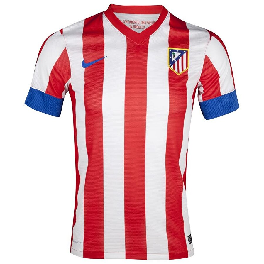 Atletico Madrid Atletico Madrid amblemi iki bölümden oluşur. Kırmızı-beyaz bölüm kulübün renklerini simgeler. Üçgen şeklindeki bölümde ise ağaca tırmanmaya çalışan bir ayı figürü vardır. Bu figür Madrid şehrinin bayrağı ve simgesidir.