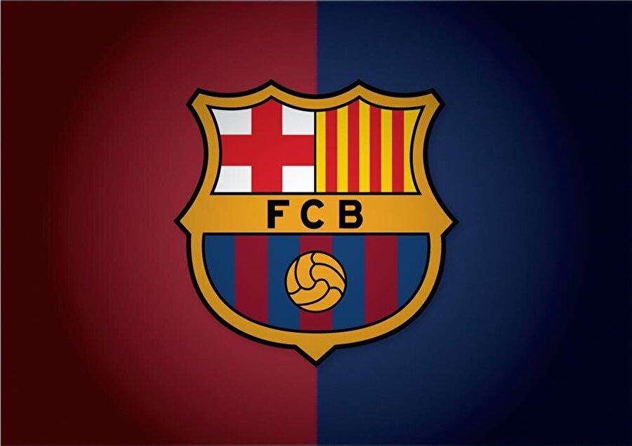 Barcelona İspanya'nın Katalonya bölgesinde bulunan Barcelona'nın birçok kez logosu değişmiş ancak aslına sadık kalmaya özen gösterilmiş. Armanın alt kısmındaki bordo-lacivert bölüm, kulübün renklerini gösterir. Üst kısımdaki haç ve sarı kırmızı dik çizgiler Katalonya Özerk Bölgesi'nin bayrağıdır.