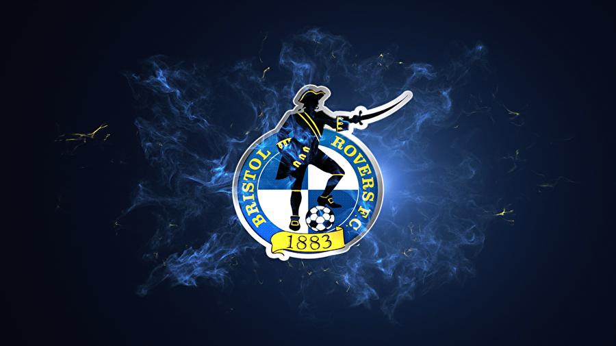 Bristol Rovers 1883 yılında kurulan Bristol Rovers, İngiltere'nin Bristol kentinin kulübüdür. İngiltere'nin en önemli liman şehirlerinden olan Bristol'de bulunan kulüp, haliyle ambleminde korsan figürü kullanmış. 90'lı yıllarda kulübün rengi olan mavi-beyazın hakim olduğu farklı bir logo tercih edilmiş ancak taraftar baskısıyla kısa sürede eskiye dönüş yapılmış.