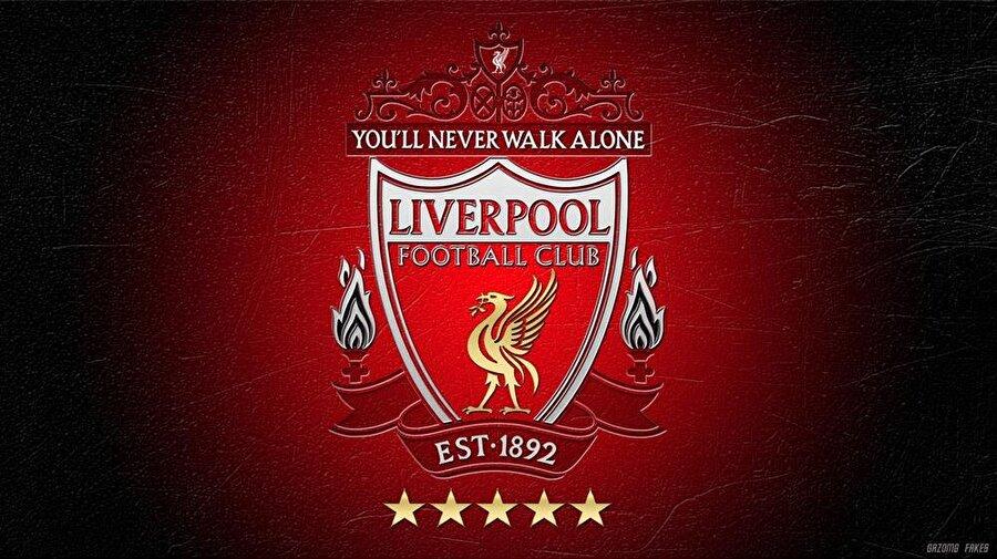 Liverpool 3 Haziran 1892'de kurulan Liverpool'un armasında Liverpool şehrinin 13. yüzyıldan bu yana simgesi olan 'Liver Bird' kullanılmıştır. 'Liver Bird' yarı karabatak, yarı kartal olan mitolojik kuştur. Amblemin sol ve sağında bulunan alevler de, 15 Nisan 1989'da Hillsborough'da hayatını kaybeden 96 Liverpool taraftarının anısına logoya ilave edildi.