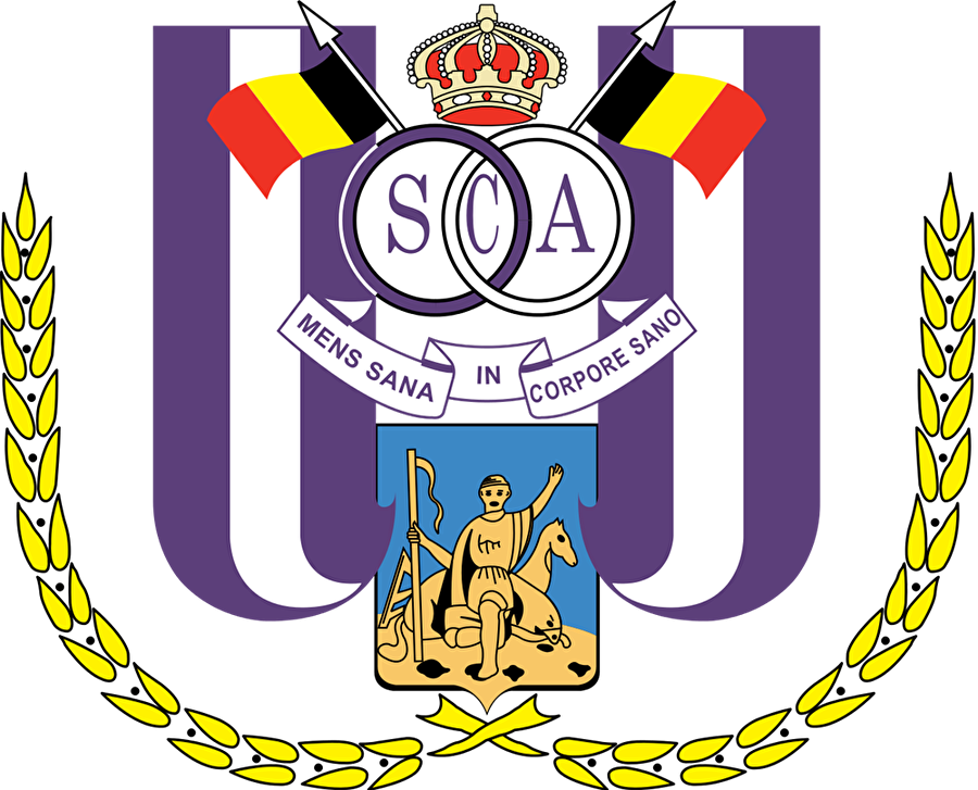 Anderlecht Belçika'nın en eski kulüplerinden olan Anderlecht, 1908 tarihinde kuruldu. Kulüp logosunda Anderlecht Belediyesi'nin simgesi kullanılmış. Logoda bulunan tacın her iki yanında ise Belçika bayrağı bulunuyor.