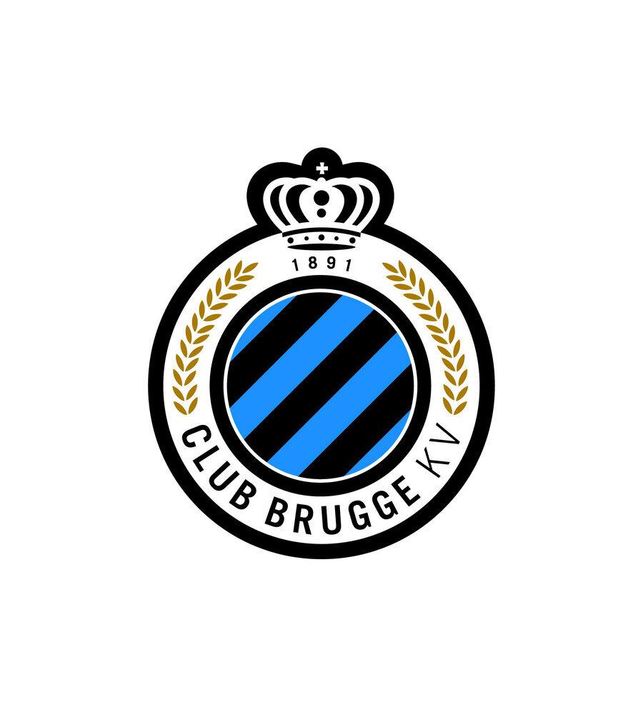 Club Brugge Belçika'da 1891 yılında kurulan Club Brugge, beş kez logo değişikliğine gitti. Belçika ekibi 2012'den bu yana ise mavi-siyah çizgili logoyu kullanıyor.