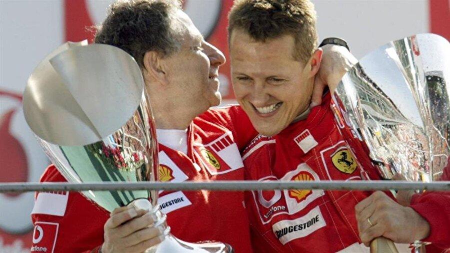 İlk zaferi 1992'de geldi                                      Jordan'ın ardından Benetton ile anlaşan Schumacher, 1992'de ilk zaferini kazandı.