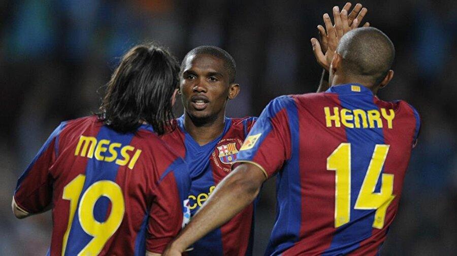 Herkes onu konuşmaya başladı Tüm dünyanın Eto'o'yu tanımaya başlaması da Katalan ekibine transferiyle birlikte başladı.