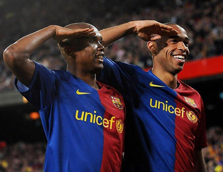 La Liga'da gol kralı oldu Eto'o, 2005-2006 sezonunda 26 gol atarak La Liga da gol kralı oldu.