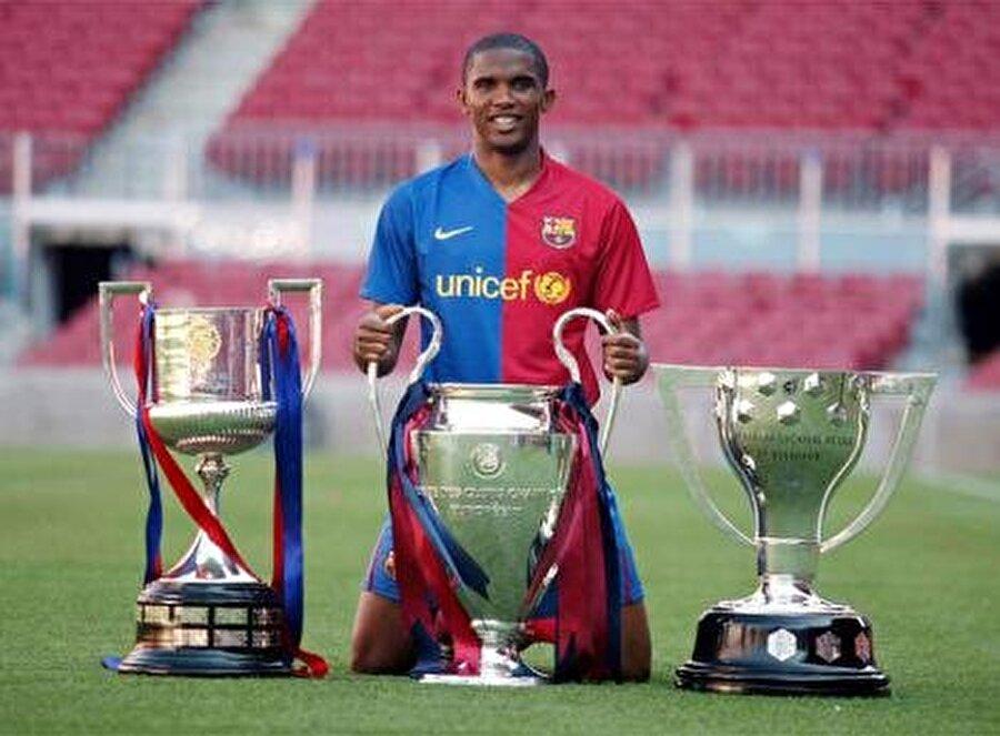 Kupalar peş peşe geldi Yıldız futbolcu Barcelona forması altında; 2005, 2006, 2009 yıllarında La Liga şampiyonluğu, 2006 ve 2007'de İspanya Süper Kupası, 2006 ve 2009'da Şampiyonlar Ligi, 2009'da ise İspanya Kral Kupası zaferi yaşadı.