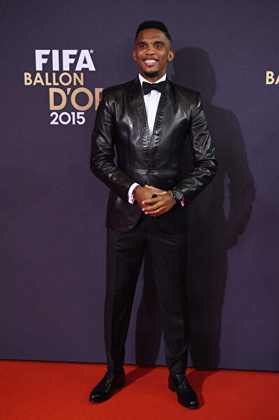 Golden Foot'un sahibi 2010'da FIFA Dünya Kulüpler Kupası'nda Altın Top'un sahibi olan Eto'o, 2006'da UEFA Şampiyonlar Ligi Finali'nde maçın adamı seçildi. Antalyasporlu yıldız 2015'te ise 'Golden Foot' ödülünü aldı.