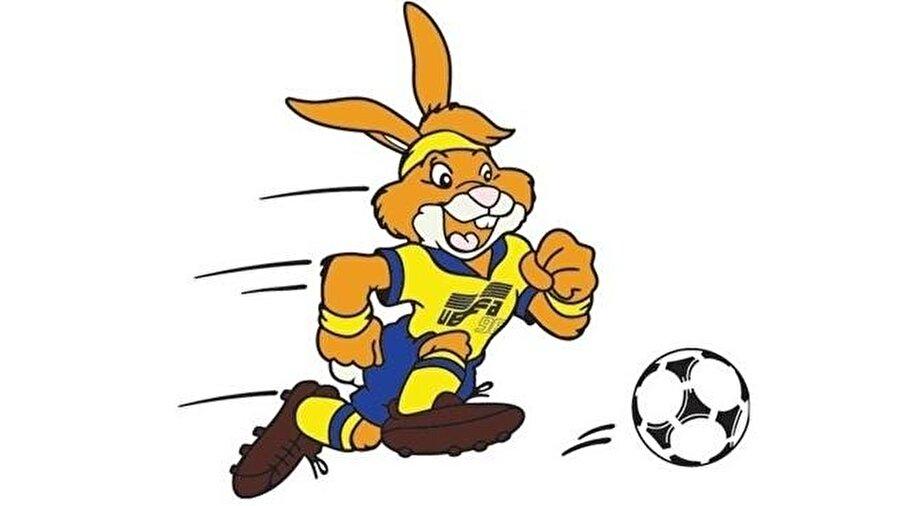 Rabbit 1992'de düzenlenen Avrupa Futbol Şampiyonası'nın da maskotu bir tavşandı. 10-26 Haziran 1992'de düzenlenen turnuvada 'Rabbit' isimli maskot, büyük beğeni topladı. Turnuvada Danimarka şampiyon oldu.
