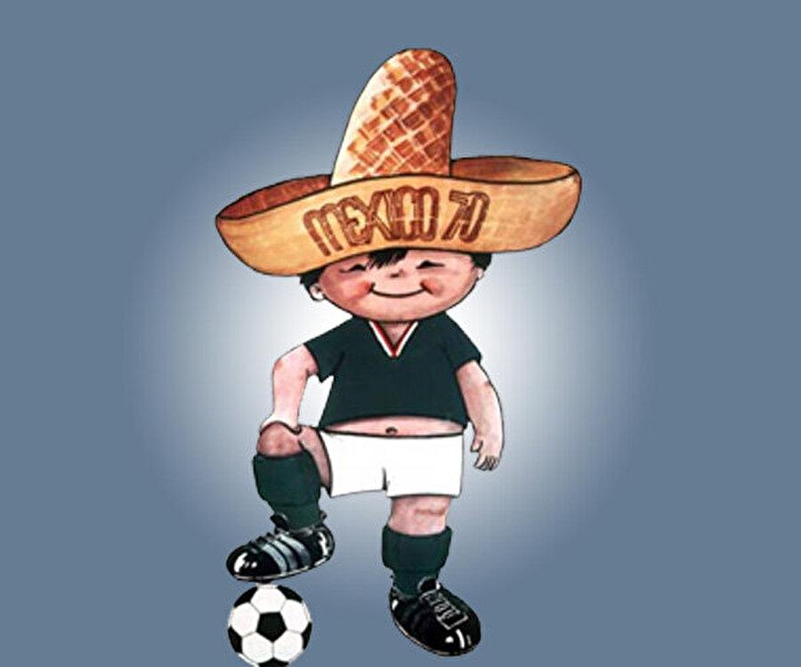 Meksika- Juanito 1970 Dünya Kupası, Meksika'da yapıldı. Şampiyonanın maskotu 'Juanito' isimli Meksika şapkası takan, kırmızı yanaklı ve tombul bir çocuk figürüydü. Turnuvayı finalde İtalya'yı 4-1 mağlup eden Brezilya kazanmıştı.