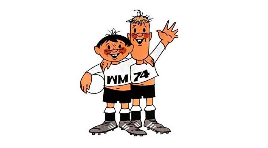 Tip ve Tap Batı Almanya'da yapılan 1974 Dünya Kupası'nın maskotları Tip ve Tap kardeşlerdi. Dişlek kardeşler, Tip ve Tap halen Dünya Kupası denildiğinde akla gelen ilk maskotlar arasında yer alıyor. Dünya Kupası'nı da Batı Almanya kazanmıştı.