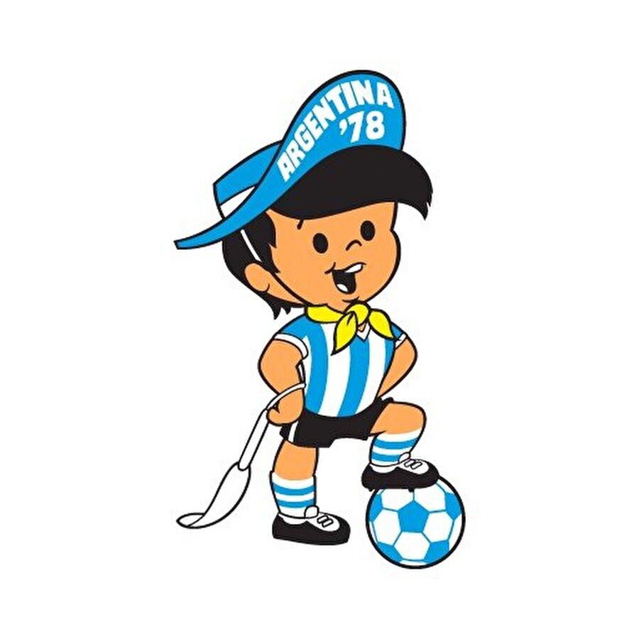 Arjantin- Gauchito 1978 Dünya Kupası, Arjantin'de yapıldı. Arjantin'i temsil eden maskot, milli forma giyen bir kovboy çocuktu. Bu turnuvayı ev sahibi ülke şampiyon olarak tamamladı.