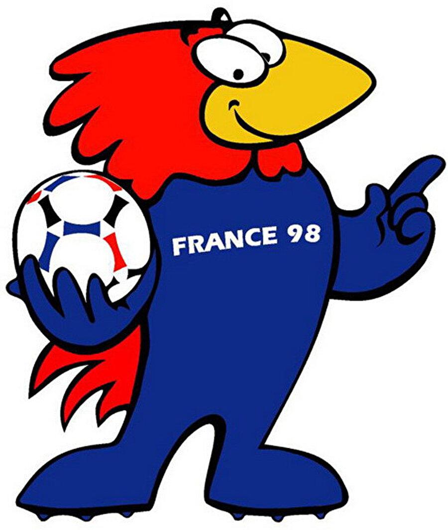 Fransa-Footix 1998 Dünya Kupası, Fransa'da düzenlendi. Turnuvanın maskotu Footix isimli bir horozdu. Kendi evinde şampiyonluğa ulaşan Fransızlar, uzun yıllar bu maskotun o sene kendilerine uğurlu geldiğini savundu.