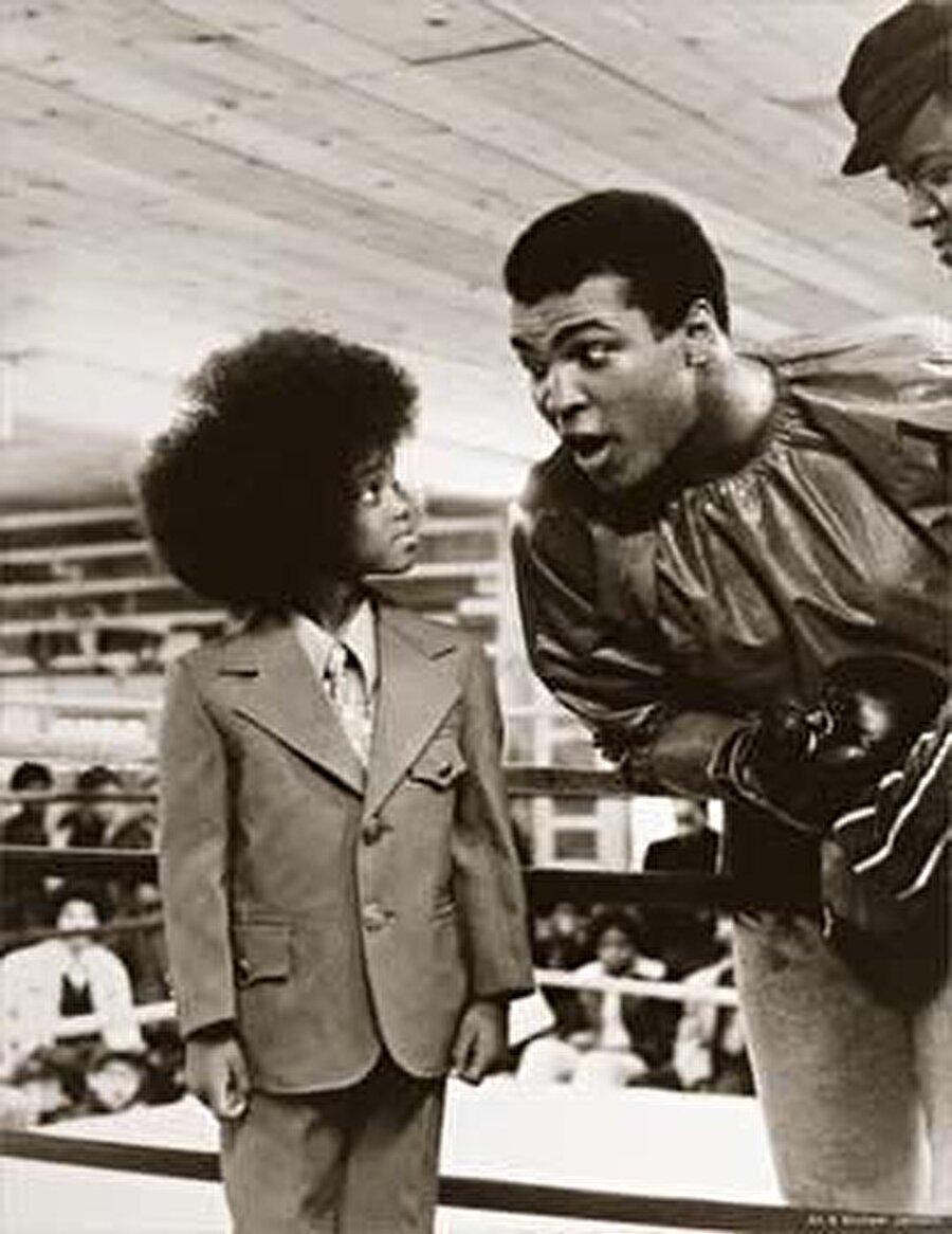 Michael Jackson, onunla tanıştı