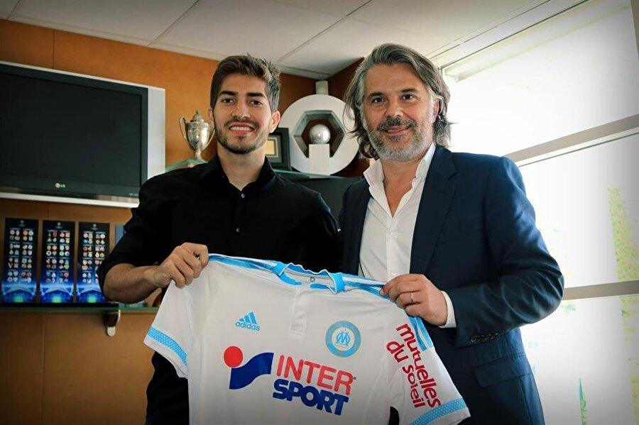 Fransa kariyeri başladı                                      Real Madrid, genç yıldızını tecrübe kazanması için 27 Ağustos 2015'te Marsilya'ya kiraladı.