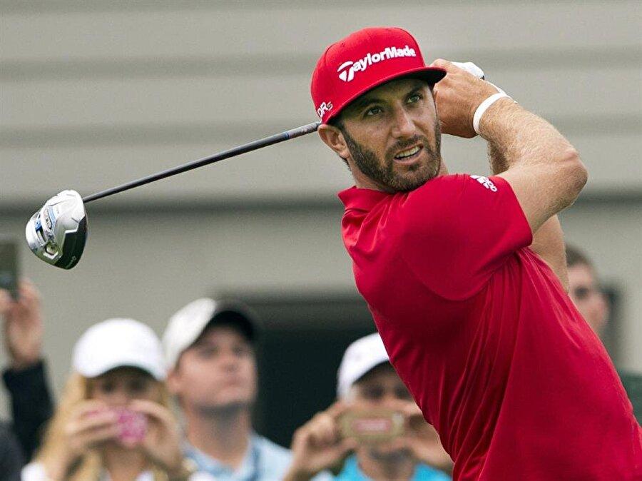 Dustin Johnson                                                                           ABD'li golfçü.