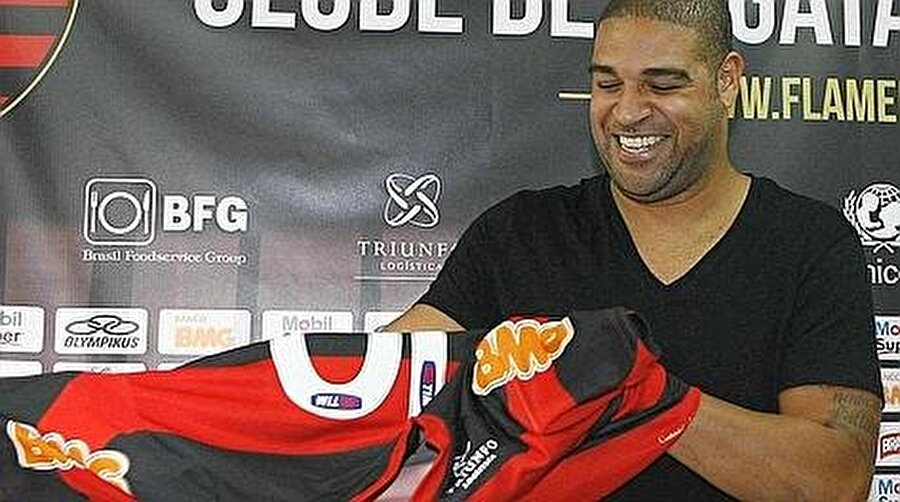 Flamengo sahip çıktı 12 Mart 2012'de kulüpsüz kalan Adriano, 21 Ağustos 2012'de bir kez daha Flamengo'ya transfer oldu.