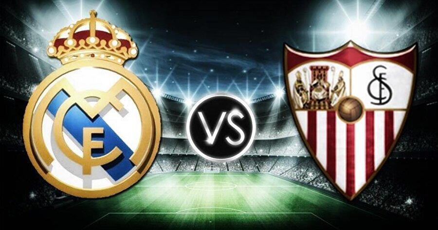 178. randevu                                                                           Real Madrid ile Sevilla, bu akşamyapacakları UEFA Süper Kupa karşılaşmasıyla tarihlerinde 178. kez resmi bir maçta karşı karşıya gelecek. İki takım arasında bugüne dek yapılan 177 maçın 94'ünü Real Madrid, 54'ünü Sevilla kazandı. 29 karşılaşma ise beraberlikle sonuçlandı.  - Sevilla, 16 Maçta 6 galibiyet aldı  Sevilla, kendi ülkesi takımlarıyla Avrupa kupalarında 16 defa karşılaştı. Endülüs takımı, oynadığı 16 karşılaşmadan 6 kez galibiyetle ayrıldı, 7'sini kaybetti, 3'ünde ise berabere kaldı.