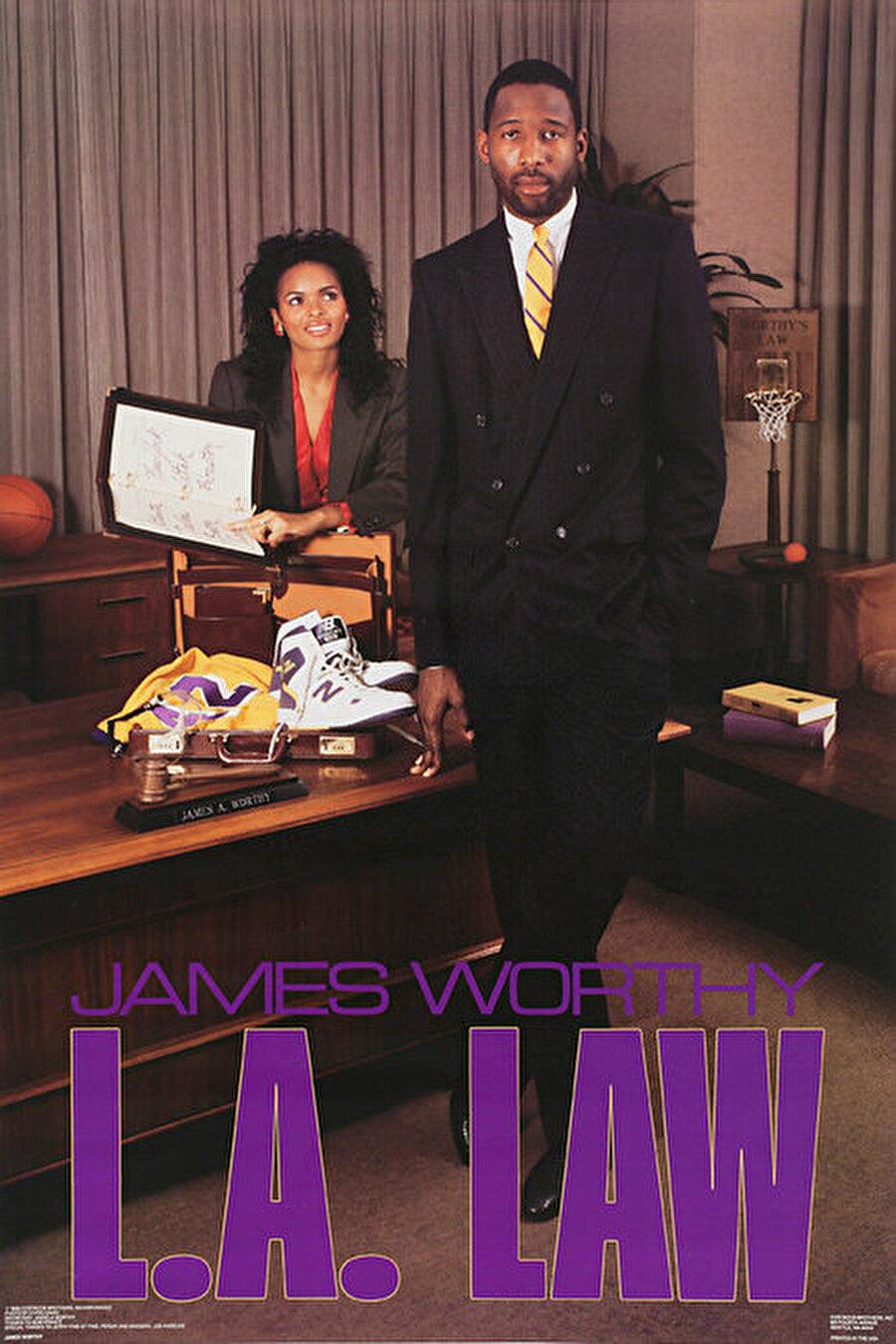 James Worthy James Worthy, NBA ekiplerinden Los Angeles Lakers'da forma giyen efsane isimlerden biridir.