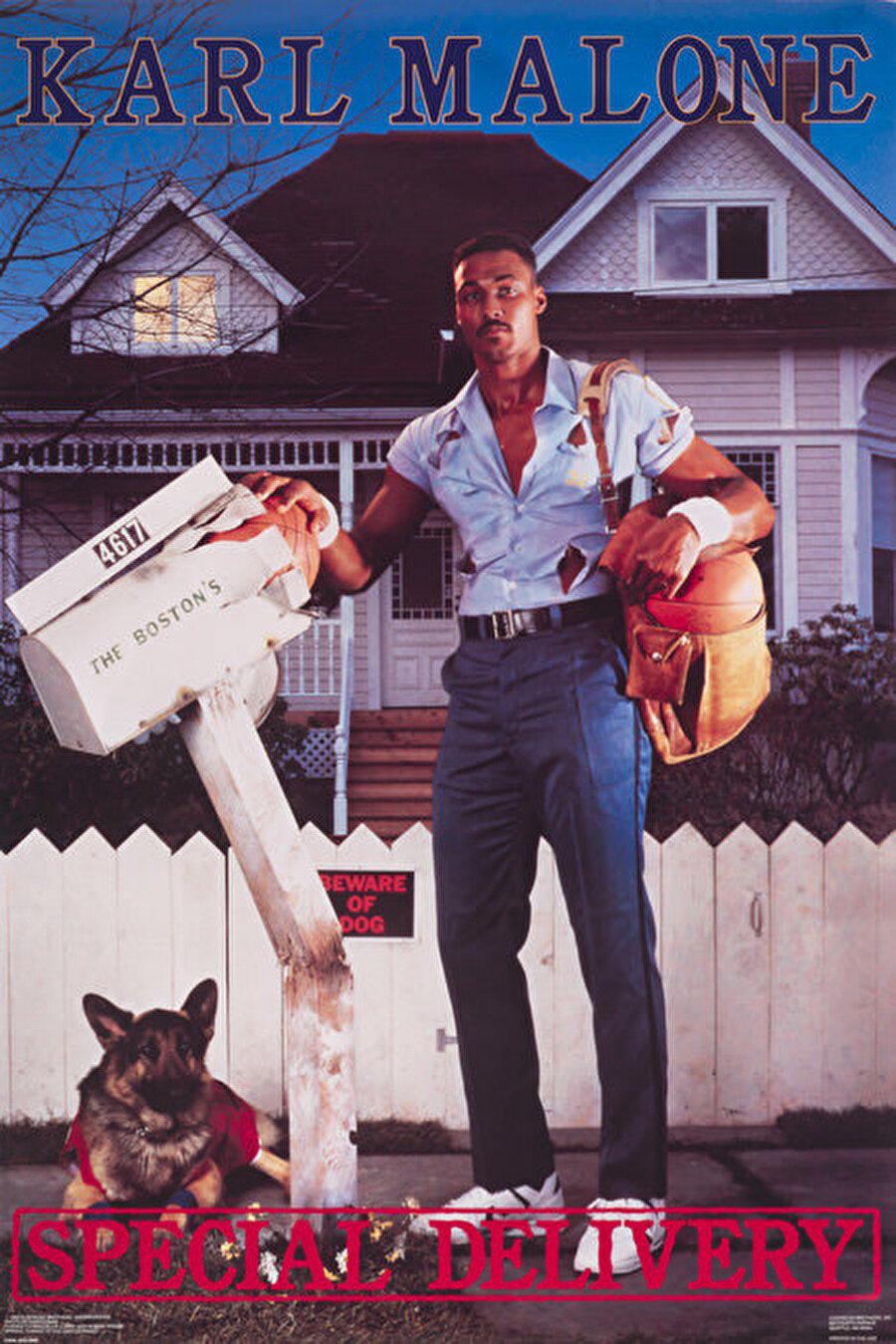 Karl Malone NBA'de tüm zamanların en iyi dört numarası olarak gösterilen Karl Malone, iki kez MVP ödülü kazandı.