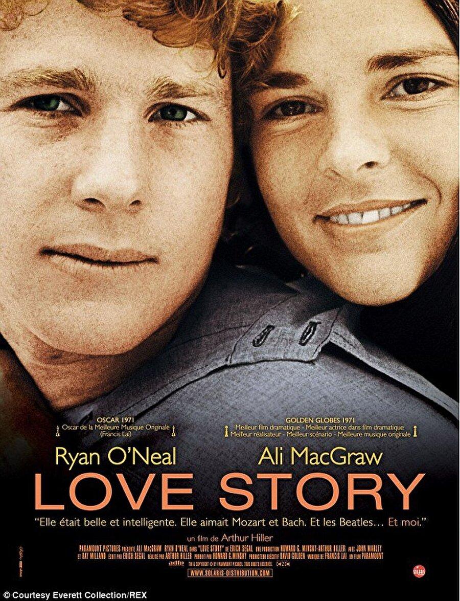Love Story / Aşk Hikâyesi (1970) Yönetmen: Arthur Hiller Yazar: Erich Segal  Oyuncular: Ali MacGraw, Ryan O'Neal, Ray Milland