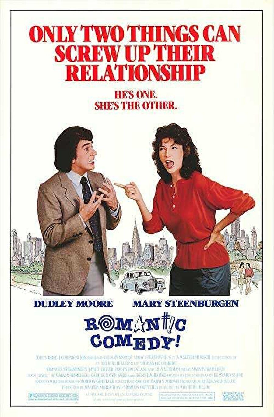 Romantic Comedy (1983) Yönetmen: Arthur Hiller Yazar: Bernard Slade Oyuncular: Dudley Moore, Mary Steenburgen, Frances Sternhagen, Janet Eilber, Robyn Douglass, Ron Leibman