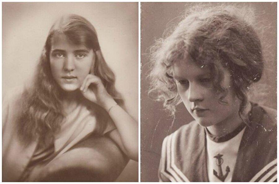 İsveç ve Finlandiya                                      Soldaki kız İsveç Prensesi Ingrid.