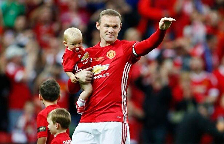 Wayne Rooney Manchester United'ın golcüsü Wayne Rooney'nin Kai, Klay ve Kit isimli oğulları var.