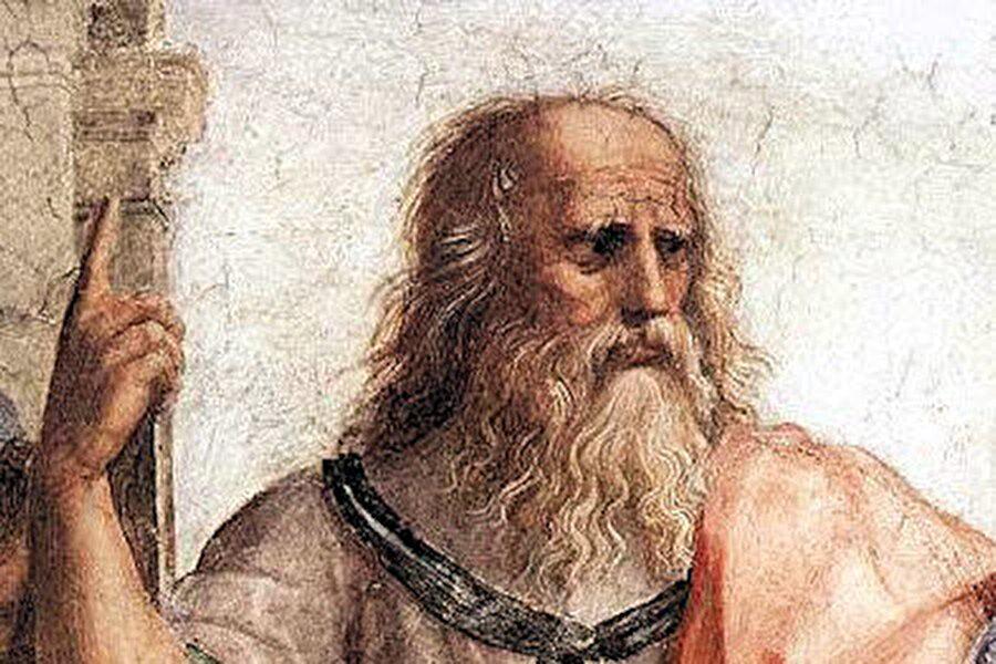 """Platon (Eflatun) MÖ. 427-347 Çok önemli bir Yunan Filozofu. Batı Dünyasının ilk yüksek öğretim kurumu olan """"Atina Akademisinin"""" kurucusu. Eflatun, Sokrates'in öğrencisidir. Bu nedenle de Sokrates gibi ahlakçı bir pencereden olaylara yaklaşmıştır. Buna göre insanların mutlu olması ancak erdemli bir hayat sürebilmesiyle mümkündür.Eflatun, hem doğada, hem de ahlak ve toplum yaşamında mutlak ve değişmez olanın peşinden koşmuştur."""