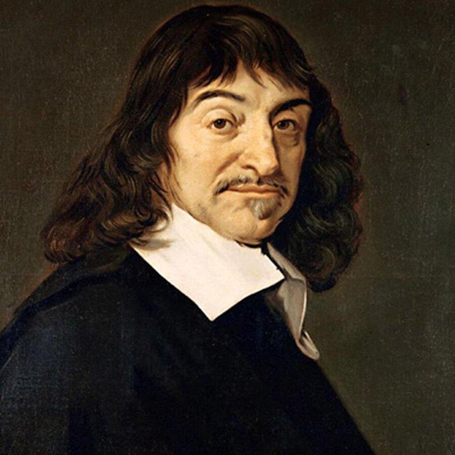 """Rene Descartes 1596-1650 Fransız Filozof, Batı düşüncesinin en önemli düşünürlerinden biri. Modern Psikolojinin ve Matematiğin kurucusu olarak bilinir. Batı düşüncesini altüst eden bir felsefe sistemi kurdu. Buna göre öğrendiğinin, gördüğünün, duyduğunun, inandığının hepsini birden büsbütün silerek, her şeyden kuşkulanmaya başladı. Yalnız tek bir şeyden emindi: düşüncenin varlığı. Buradan hareketle, evrenin açıklamasını yaptı. Sıkça duyduğumuz """"Düşünüyorum Öyleyse Varım"""" sözünün mimarıdır."""