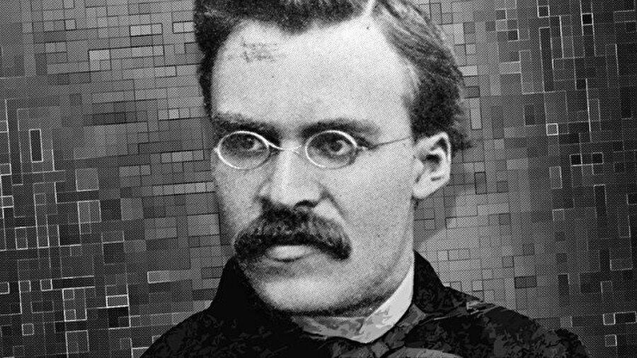 """Friedrich Nietzsche 1844- 1900 Alman filolog ve filozof. Tarihteki en tartışmalı kişilerden biridir. Hristiyan ahlakını reddetmesi ve tanrı algısı hep gündemde olmuştur. """"üst insan"""" adlı bir çözüm getirmiştir. Ona göre üst insan gelip insanlığı kurtaracaktır. Bu süper insan iyi ve kötünün ötesinde yaşayacak, kendi ahlaki yargıları ve güç istenci ile diğer insanlardan üstün olacaktur. Naziler onun felsefesini kullanmış üst insan olduklarını iddia etmişlerdir. Ancak Nietzche'nin kastı tam tersidir. Ona göre Avrupa bir dekadens """"çöküş"""" içindedir ve hristiyanlık sefil kalabalıklar arasında yayılan değerleri çökmüş bir dindir. Ünlü sözü: Ne kadar yükselirsek, uçamayanlara o kadar küçük görünürüz. Tüm dünyada tanrı algısının ve dinin sorgulamasına neden olmuştur. Estetik, etik, metafizik, nihilizm, psikoloji, ontoloji, şiir, tarih felsefesi alanlarında adı sıkça geçer."""