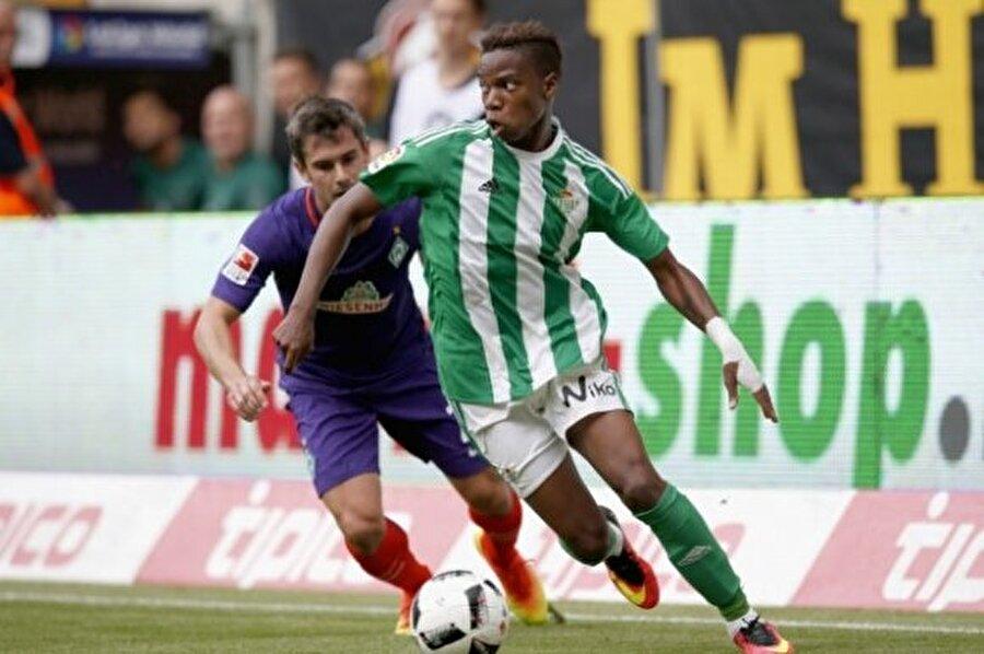 Charly Musonda                                                                                                                Yaş: 19 Pozisyon: Sol açık Seviye: 77 Kulüp: Real Betis Balompié