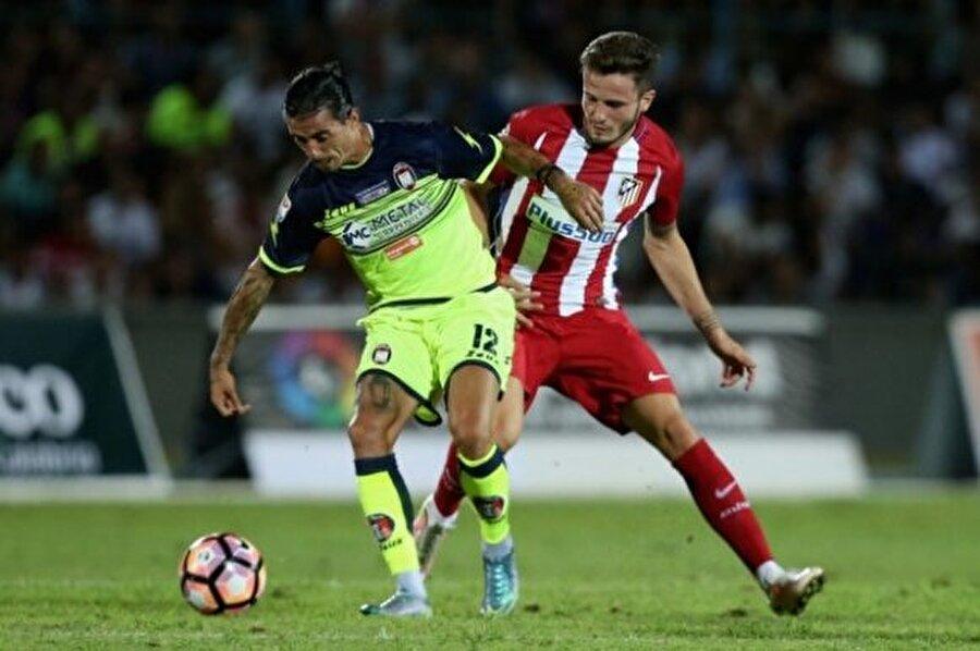 Saul Niguez                                                                                                                Yaş: 21 Pozisyon: Orta saha Seviye: 80 Kulüp: Atletico de Madrid
