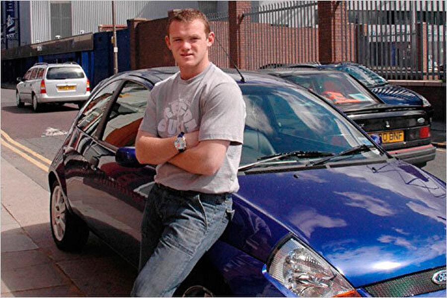 Rooney gençken spor tipi Ford Ka'sını çok seviyordu.