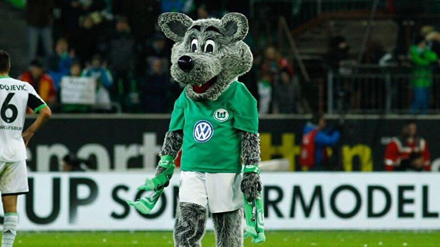 """Wolfsburg-Kurt Alman ekibinin isminden de anlaşılacağı gibi maskotu bir """"Kurt."""""""