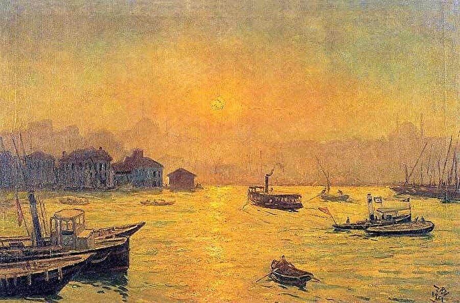Namık İsmail - İstanbul                                       Yaşadığı dönemdeki sanat akımlarına doğrudan katılmayan Namık İsmail, izlenimcilik etkisiyle başlayan sanat yaşamında çeşitli yelpazelerde eserler üretti.