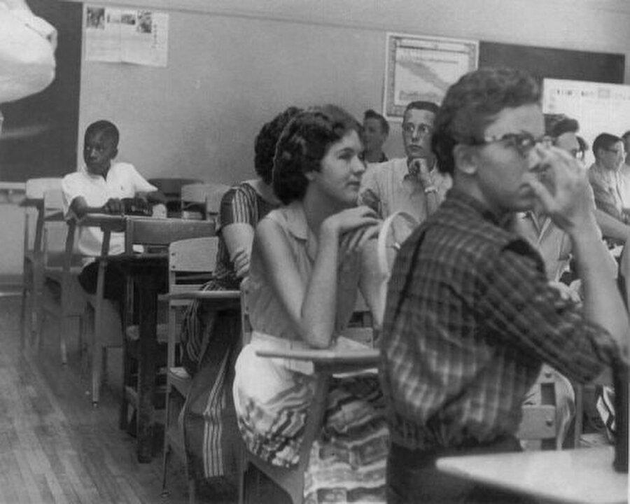 Amerikan Hükumeti siyahi insanlar ile beyaz insanların aynı okulda eğitim görmesine izin veriyordu. Ancak Amerikan halkı bu kararı tanımayarak, siyahi öğrencileri dışlıyordu.