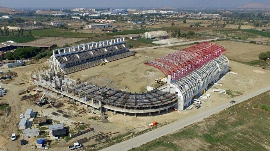 Tire Arena                                      Yapım çalışmaları devam eden Tire Arena 2017-2018 sezonunda kapılarını açacak.
