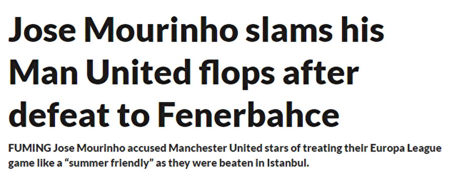 Daily Star                                      Daily Star: 'Gırtlakçı' Manchester'ın çöken yıldızları... Zlatan rakibine futbol yerine dövüş sanatlarını gösterdi.