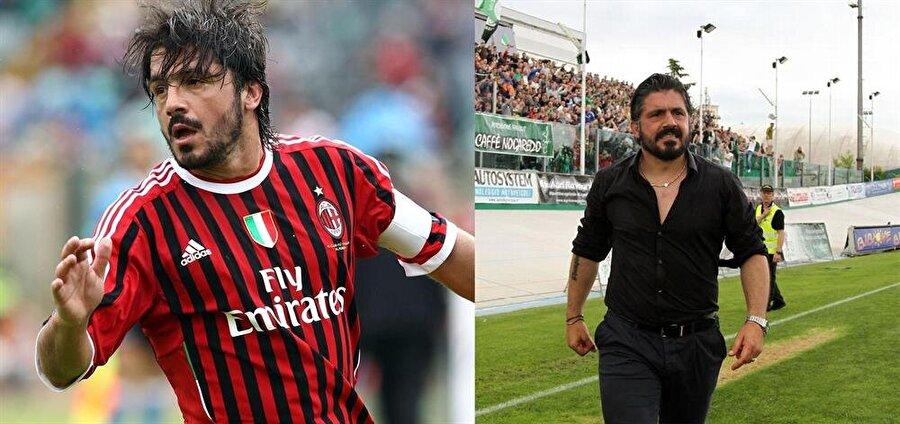 Gennaro Gattuso 2013'te futbolu bırakan Gennaro Gattuso, İtalyan ekibi Pisa'yı çalıştırıyor.