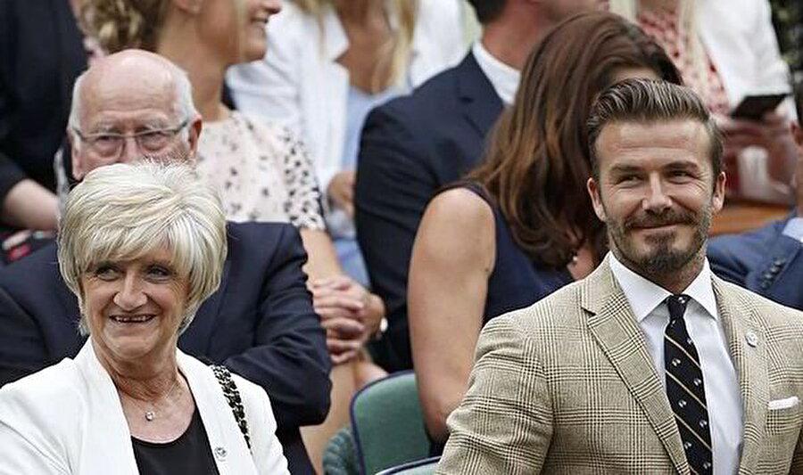 David Beckham / Sandra Georgina West