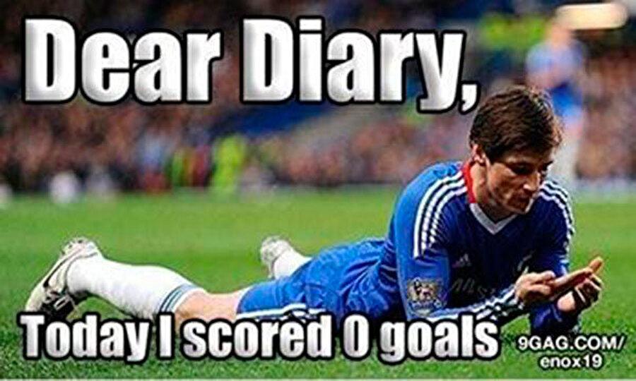 Sevgili günlük, bugün hiç gol atamadım...