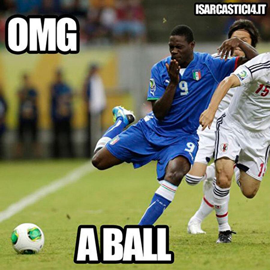 Hayret bir şey! Bu top mu ya?