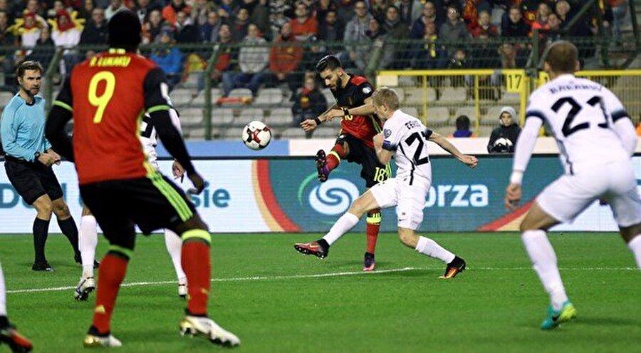 Gruptaki 4 maçını da kazanan Belçika puanını 12'ye yükseltti ve liderliğini sürdürdü. Roberto Martinez'in öğrencileri bu karşılaşmalarda toplam 21 gol atıp sadece 1 gol yedi. Estonya ise 3 puanda kaldı.