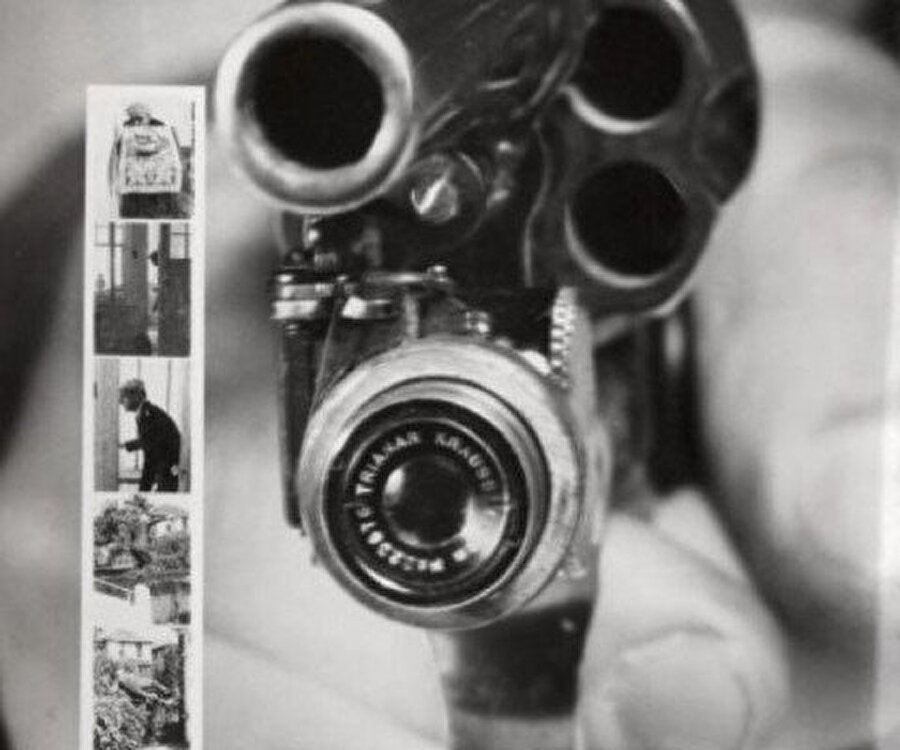 Tabanca şeklinde kamera