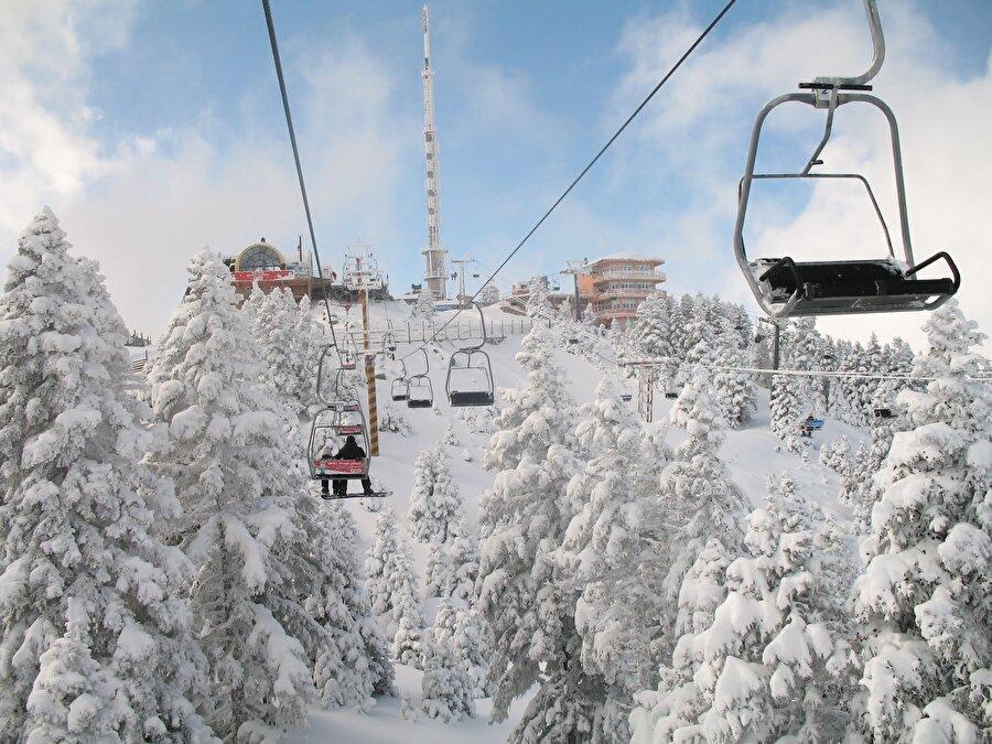 Uludağ, Bursa                                                                                                                                                                                                                                                                                                                                                                                   Bursa merkeze yaklaşık 1 saat uzaklıkta olan dağ, kayak turizmi için de oldukça uygun. Hem dinlenip hem keyifle eğlenebileceğiniz bölge, özellikle Aralık, Ocak ve Şubat aylarında yoğun ve eğlenceli oluyor.