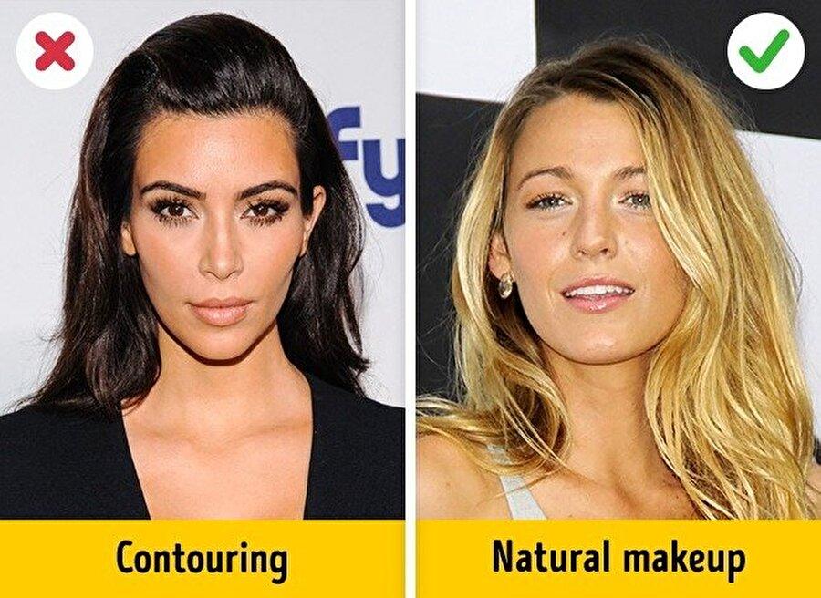 """Artık doğal görünüm """"in""""                                                                                                                                                                                          Yapay kaşlar, saçlar yerine; şimdinin modası doğal makyaj ve doğal görünen saçlarda gizli."""