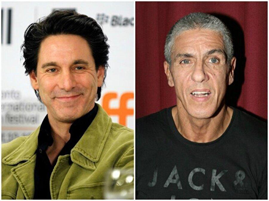 Scott Cohen ve Samy Naceri — Her ikisi de 54 yaşında
