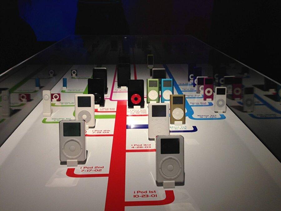 iPod serisi 2005 yılına kadar iPod, iPod mini, iPod nano ve iPod Shuffle şeklinde büyümeye devam etti.